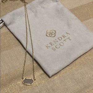 Kendra Scott Drusy Necklace